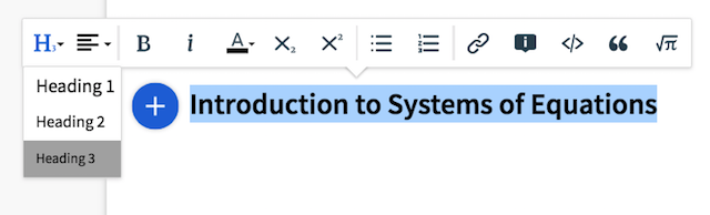 Professor: Formatting Toolbar in Pages